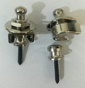 Schaller Strap Locks-Schaller vs. Dunlop Strap Locks.